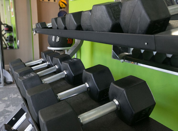weight room Williamsburg Townhomes in Sagamore Hills OH