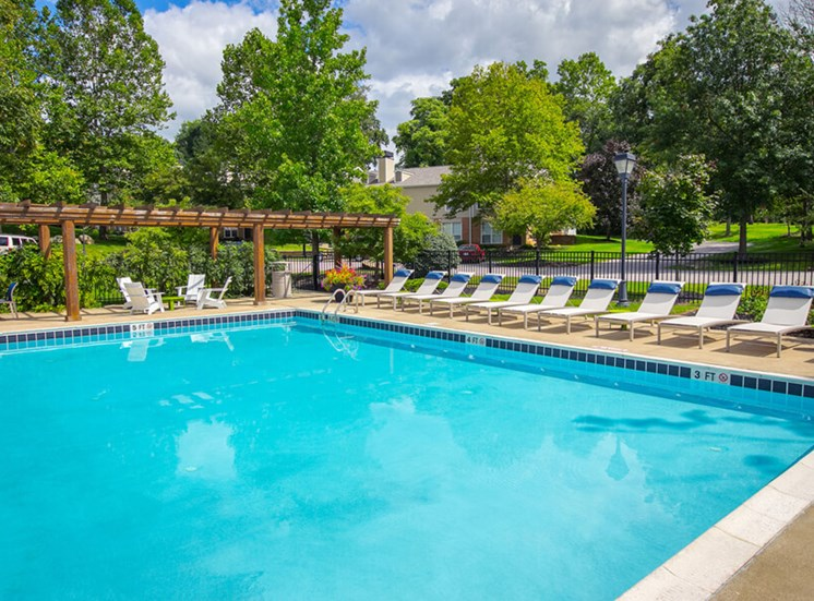 pool Williamsburg Townhomes in Sagamore Hills OH