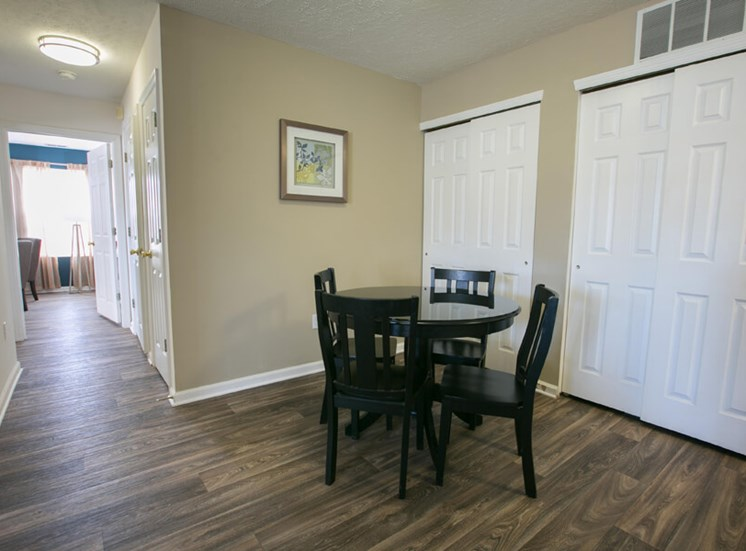 wood like flooring at The Village of Western Reserve Apartments in Streetsboro, OH