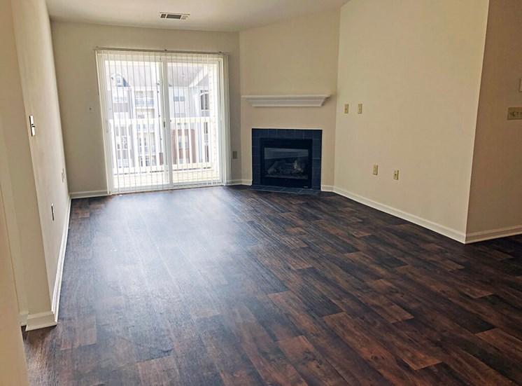 Open living room  at Riverside Station Apartments in Woodbridge, VA