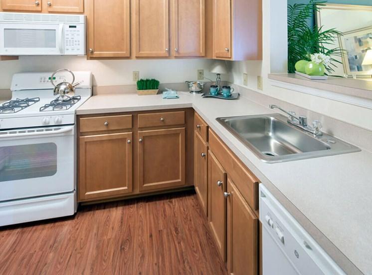 Kitchen at Riverside Station in Woodbridge, VA