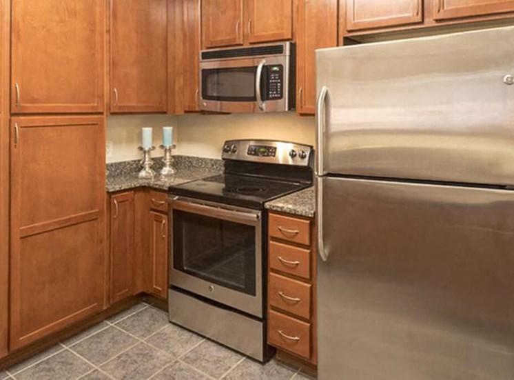 Kitchen at The Alexander Apartments in Alexandria, VA