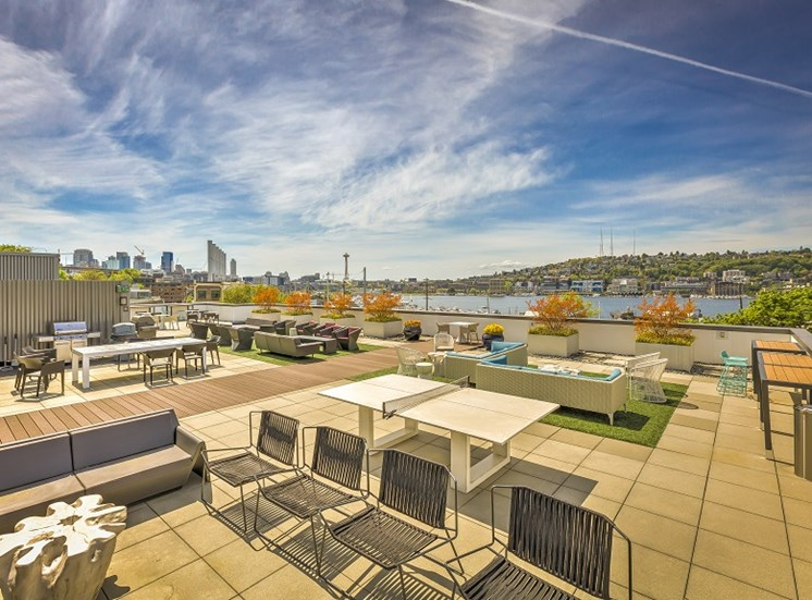 Enjoy Your Evenings At Rooftop Deck at Equinox, Washington, 98102