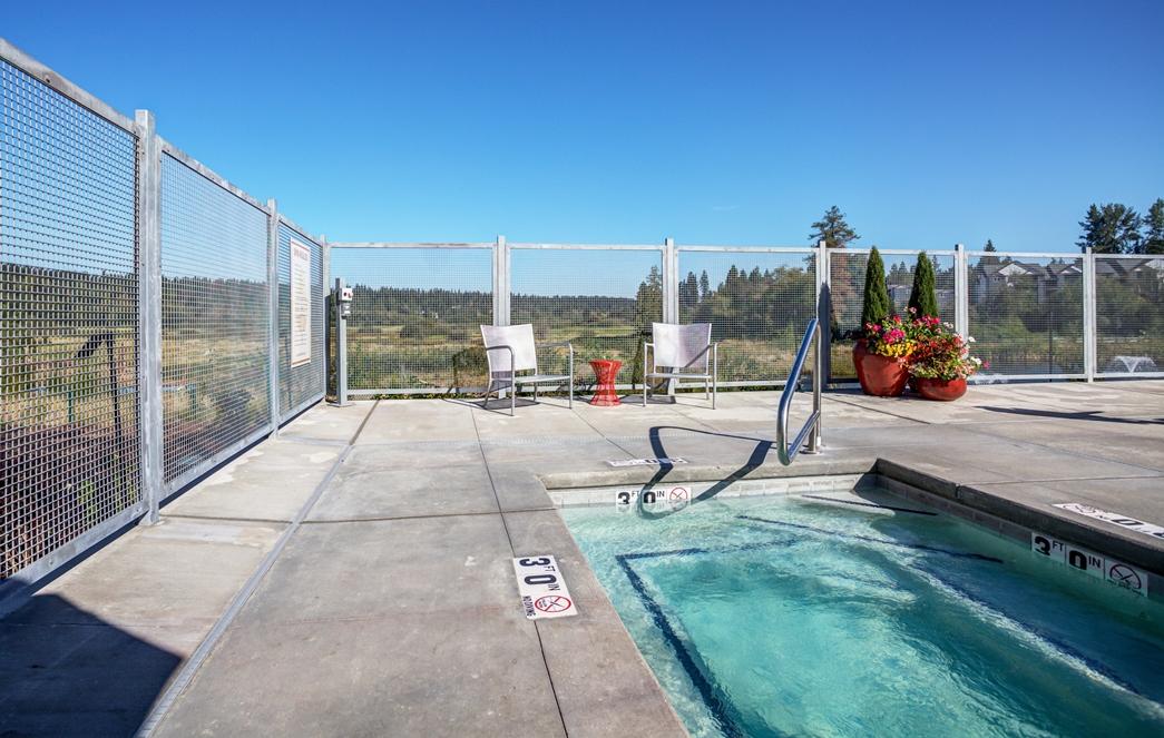 Resort Inspired Pool and Spa at Bailey Farm, Bothell, 98012