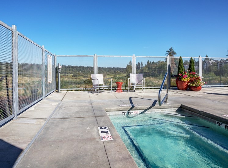 Resort Inspired Pool and Spa at Bailey Farm, Bothell, 98012