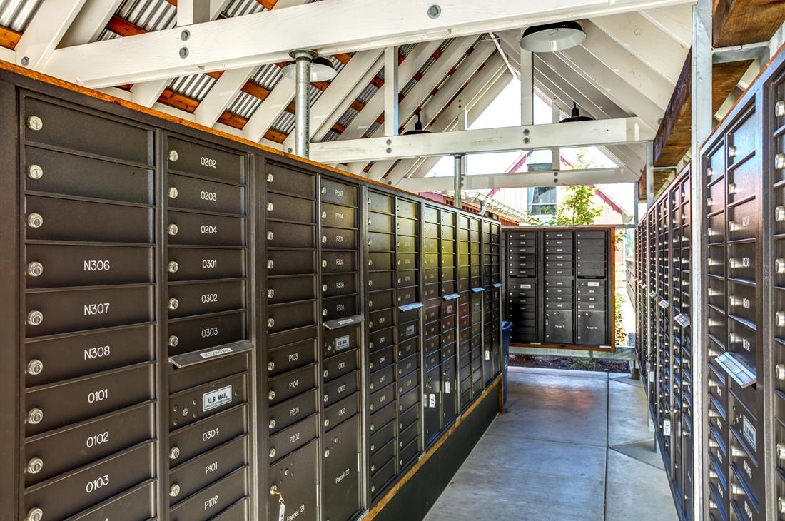 Locker System at Bailey Farm, Washington