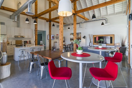 Clubhouse with Upgraded Interiors at Bailey Farm, Bothell, Washington