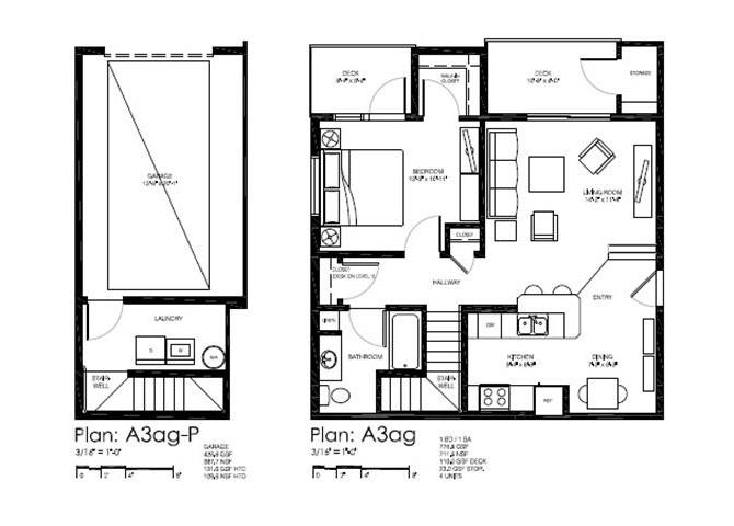 Floor plan at Bailey Farm, Washington, 98012