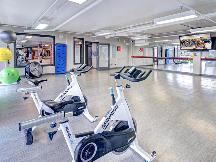 State-of-the-art-Fitness Center