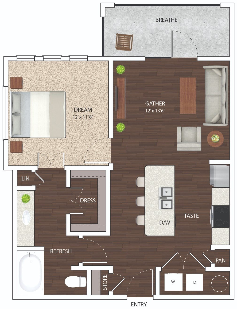 A1 - Phase I Floor Plan 1