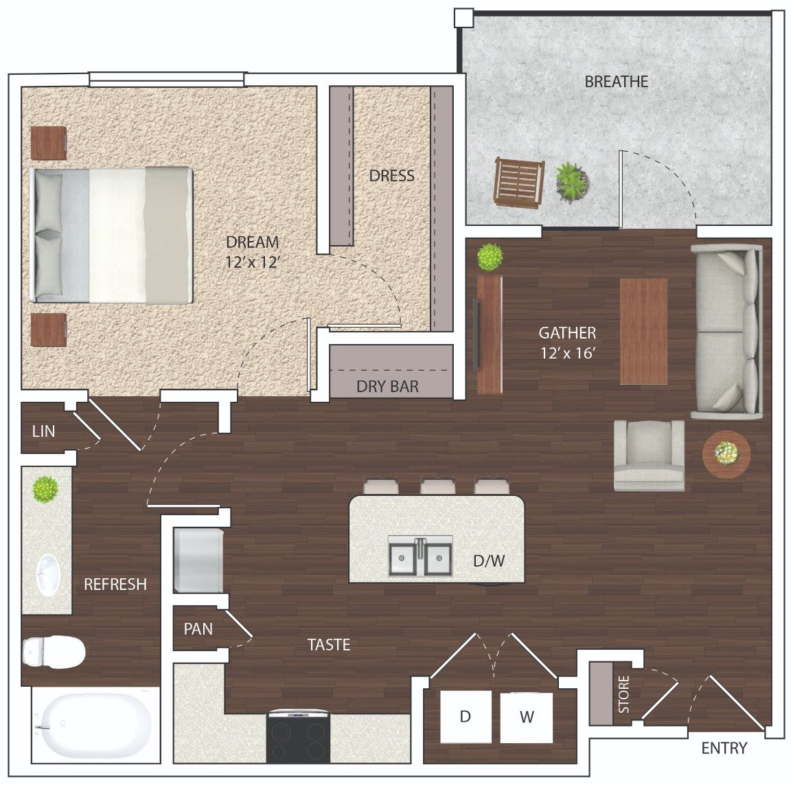 A2 - Phase I Floor Plan 3