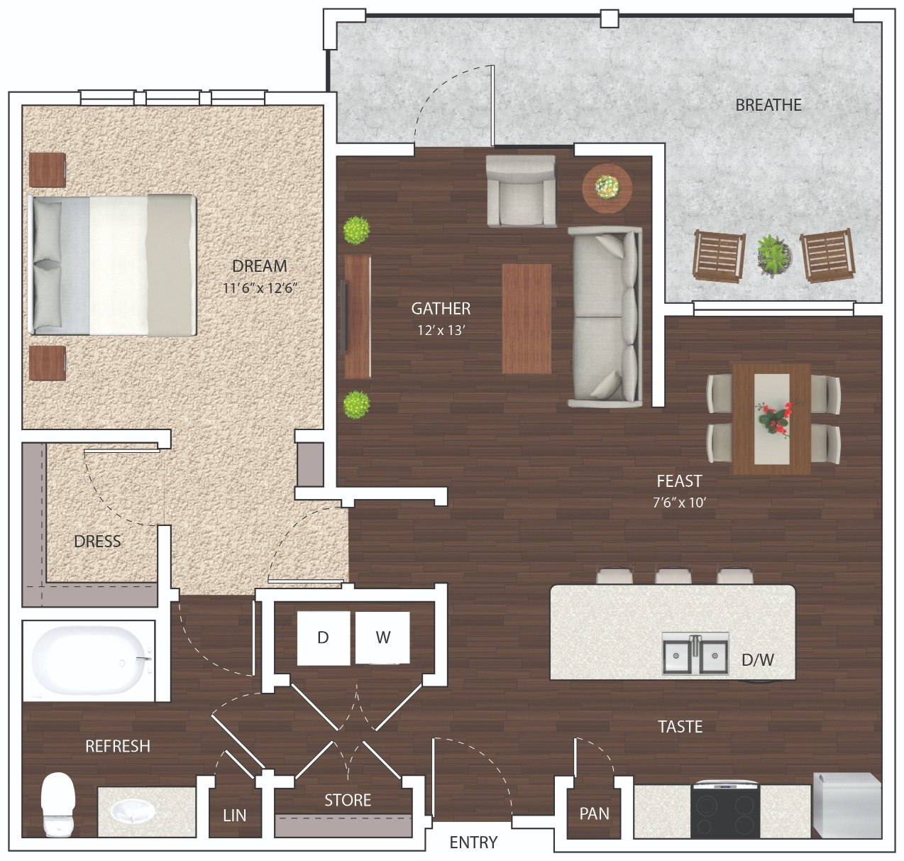 A3 - Phase I Floor Plan 5