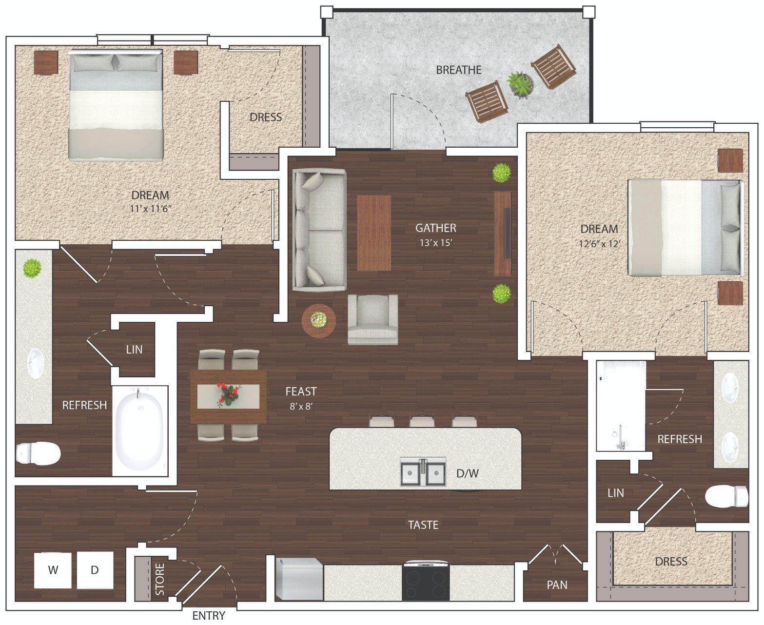 B2 - Phase I Floor Plan 9
