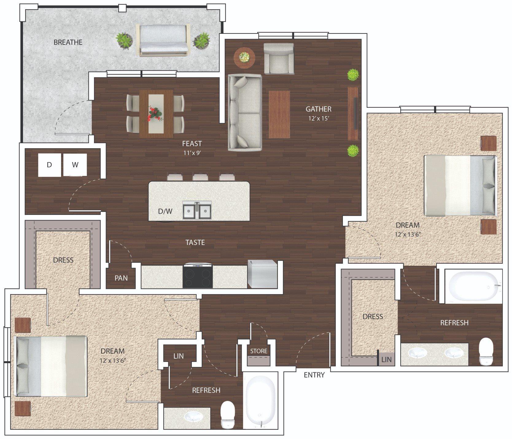 B3 - Phase I Floor Plan 11