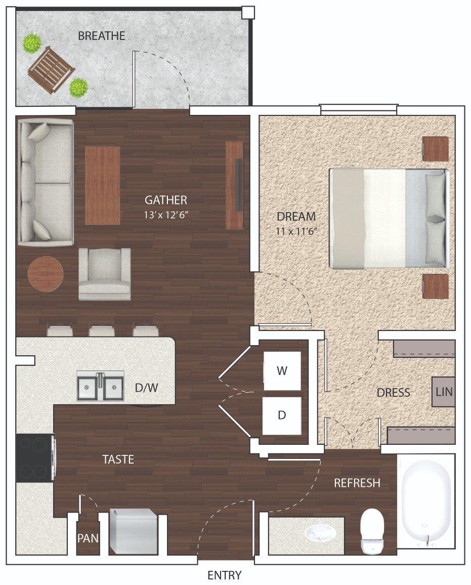 E1 - Phase I Floor Plan 15