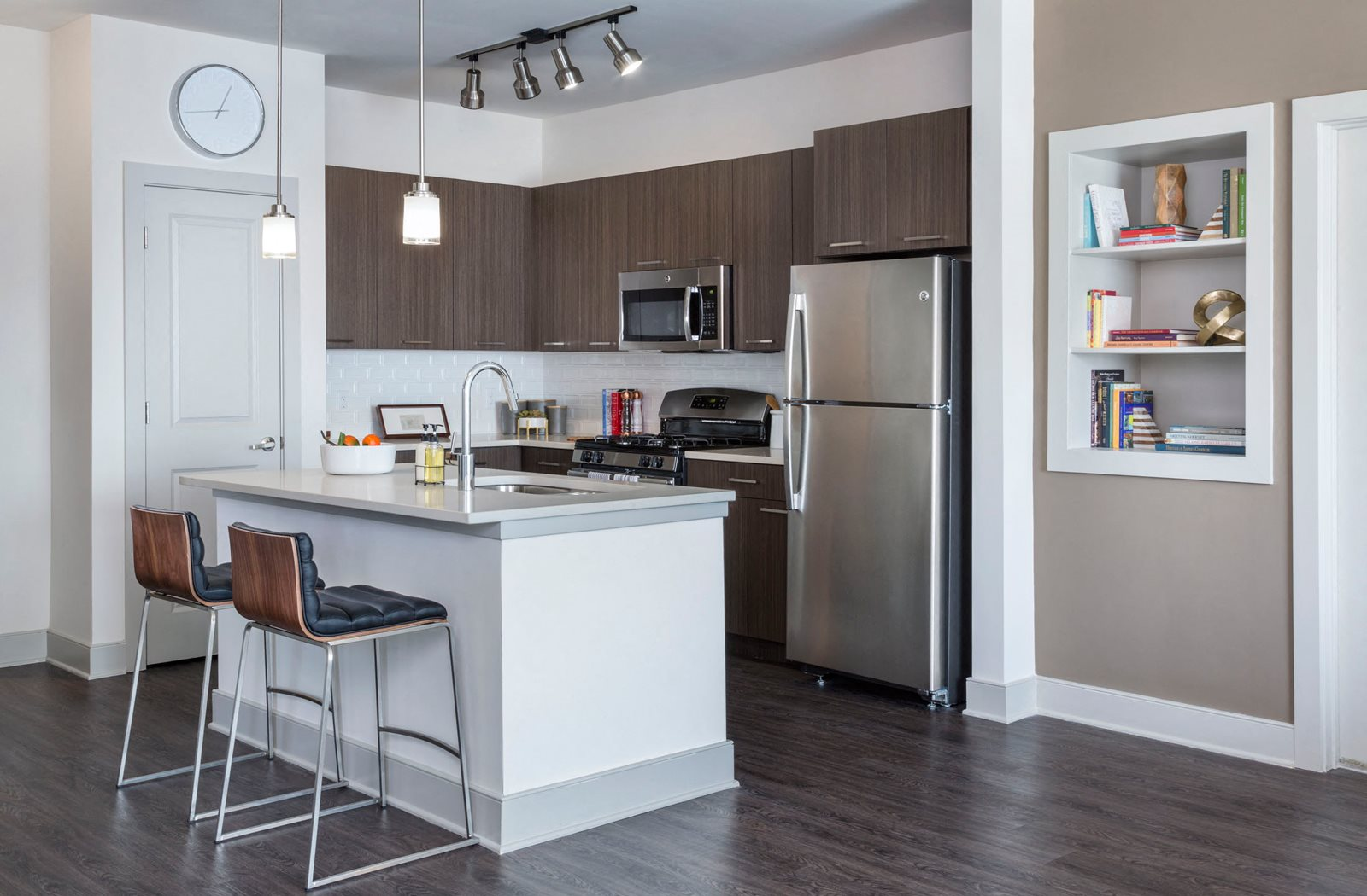 open kitchens for Talia Apartments in Marlborough, MA