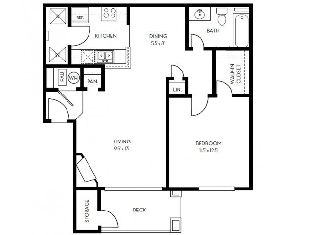 The Vista Floor Plan 1