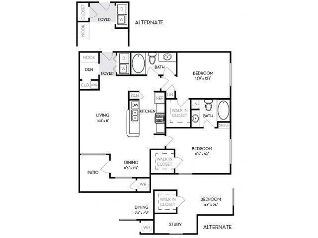 Ellingwood Floor Plan 4