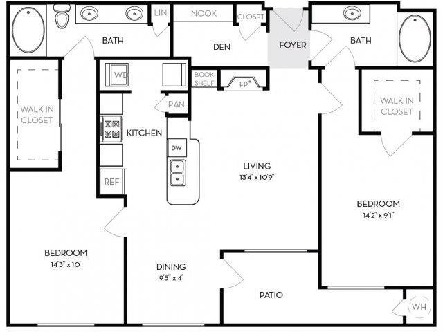 Fairchild Floor Plan 4