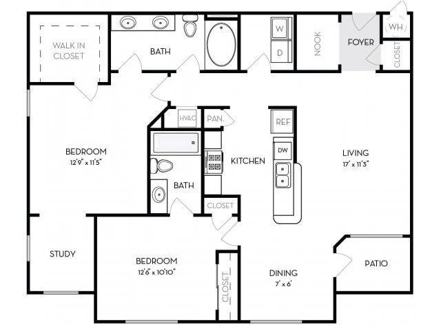 Sheridan Floor Plan 5