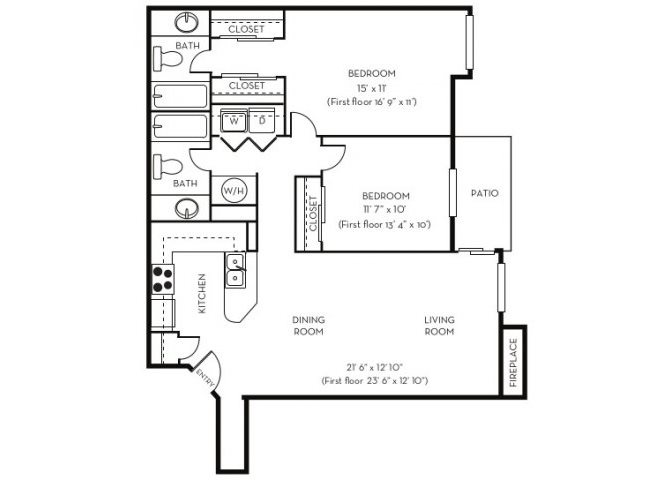 The Brookhaven Floor Plan 3