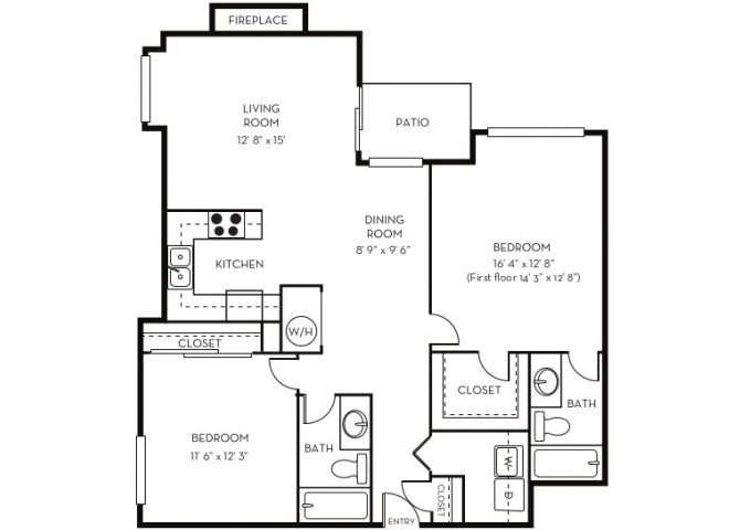 The Westchester Floor Plan 4