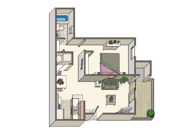 The Hyannis Floor Plan 1