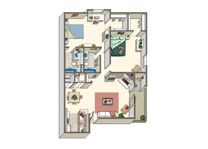 The Nantucket Floor Plan 4