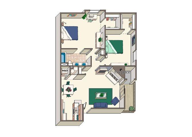 The Vineyard Floor Plan 3