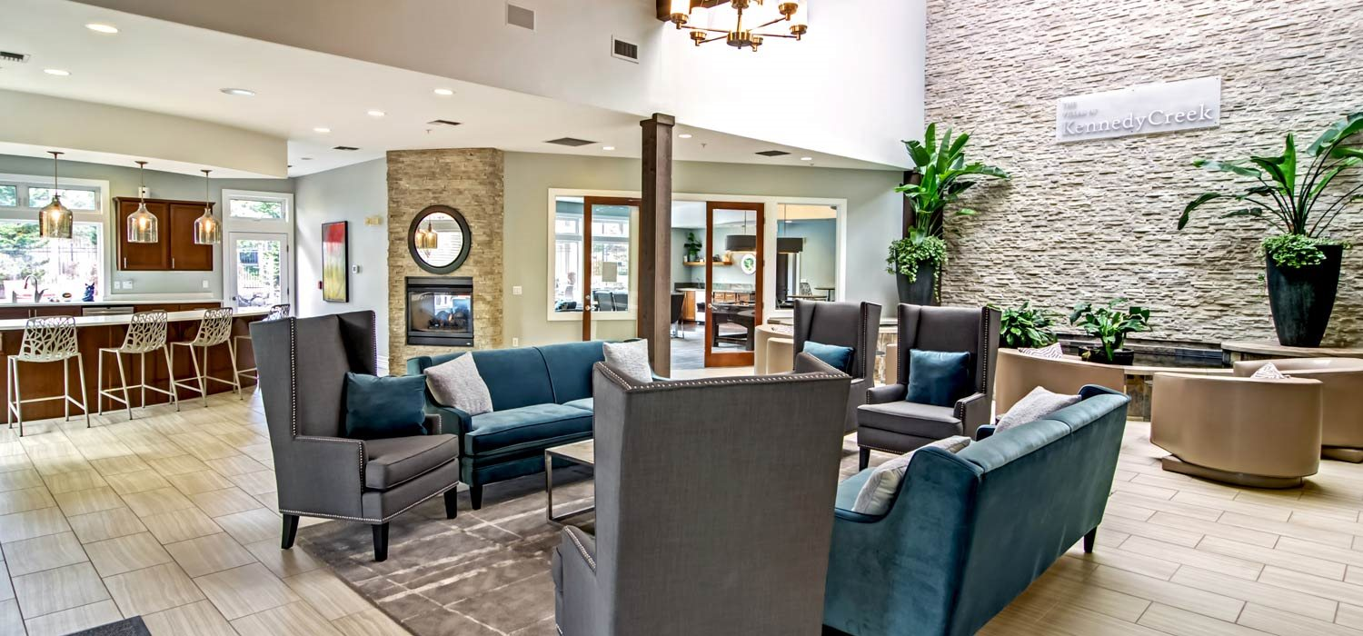 Stylish Clubhouse at The Villas at Kennedy Creek, Tumwater, 98512