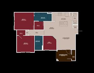 B3 Floor Plans