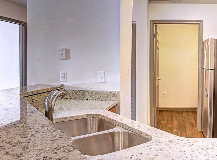Luxury Apartments in Lawrenceville| Wesley St. Claire Apartments | Double Kitchen Sinks