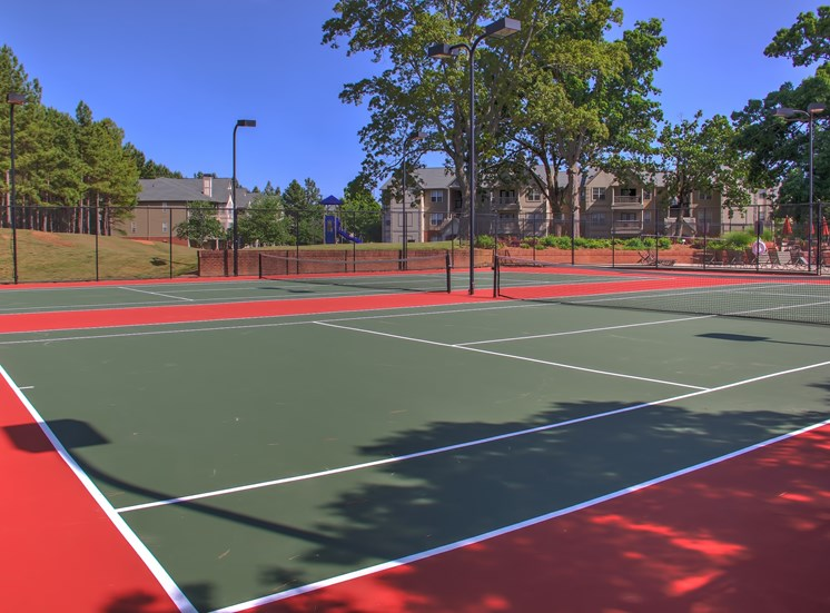 Luxury Apartments in Lawrenceville| Wesley St. Claire Apartments | Tennis Court