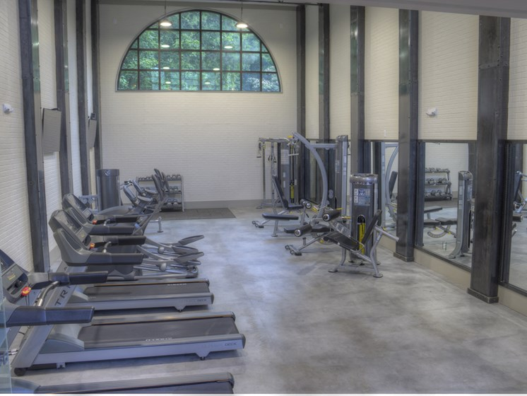 Luxury Apartments in Roswell | Wesley St. James Apartments | Fitness Center