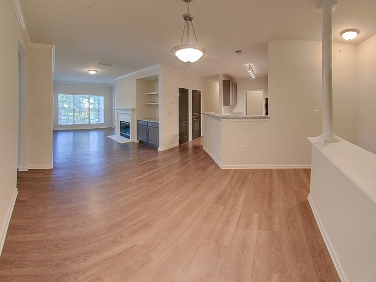 Luxury Apartments in Roswell | Wesley St. James Apartments | Hardwood Floors