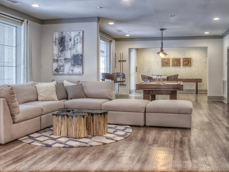 Luxury Apartments in Roswell | Wesley St. James Apartments | Resident Clubhouse