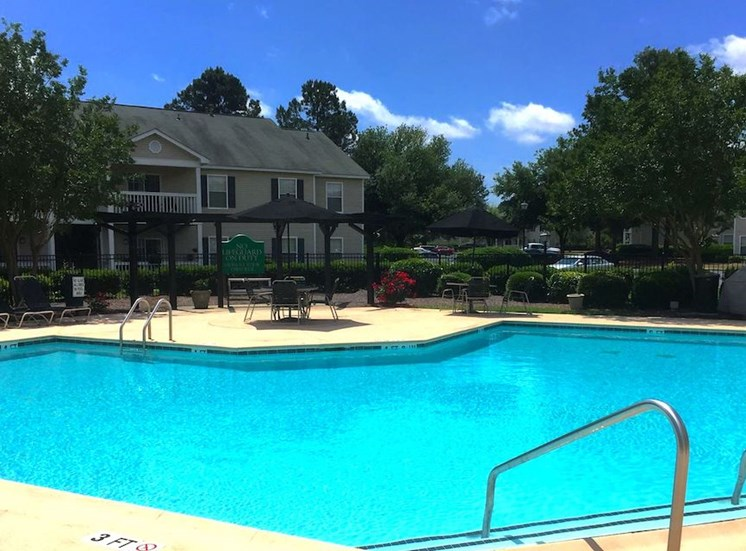 Churchill Commons Apartments in Aiken, SC 29803 Swimming Pool