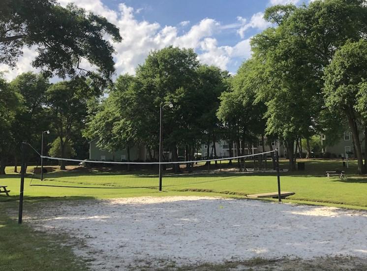 Viera Aiken Apartments in Aiken, SC sand volleyball court