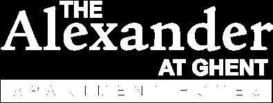 logo at The Alexander at Ghent in Norfolk, VA