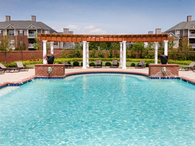 Pool at The Belvedere Apartments in Richmond, VA