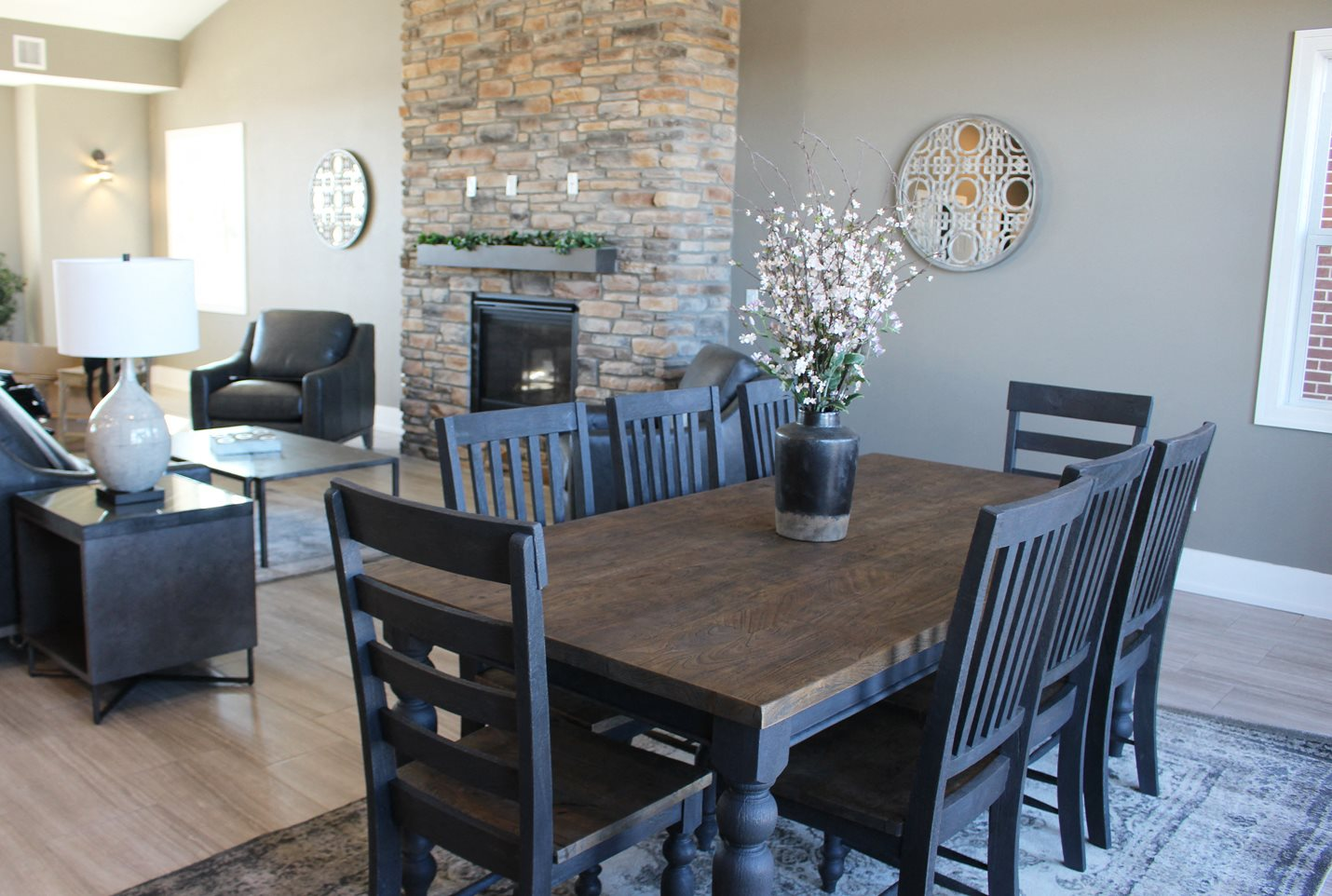 Beautiful Clubhouse for Relaxing at Copper Creek Apartment Homes in Maize, KS