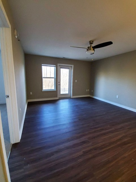 Hardwood Plank Flooring at Strathmore Apartment Homes, West Des Moines, 50266