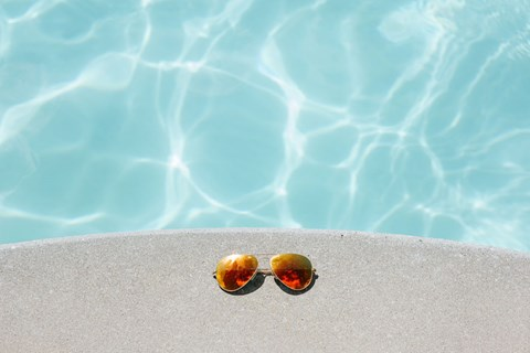 Pool With Large Sundeck and Wi-Fi at Strathmore Apartment Homes in West Des Moines, Iowa
