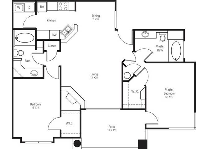 Lincoln floor plan.