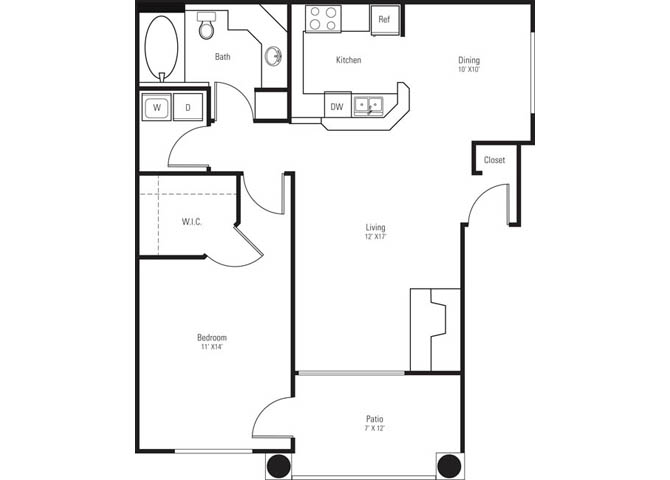 Pima floor plan.