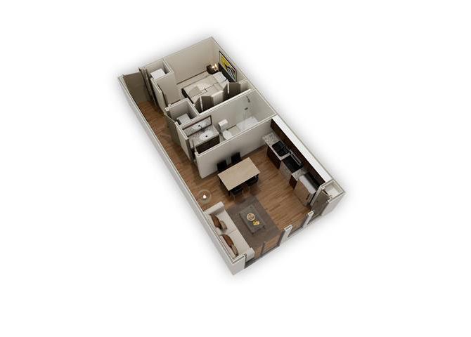 The Arden - E1a floor plan.