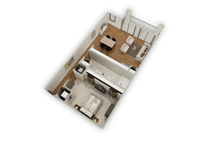 The Avalon - E2 floor plan.