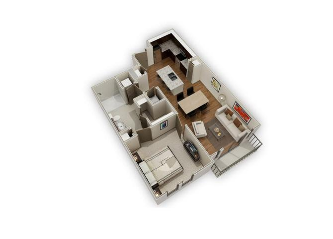 The Domain - A5 floor plan.