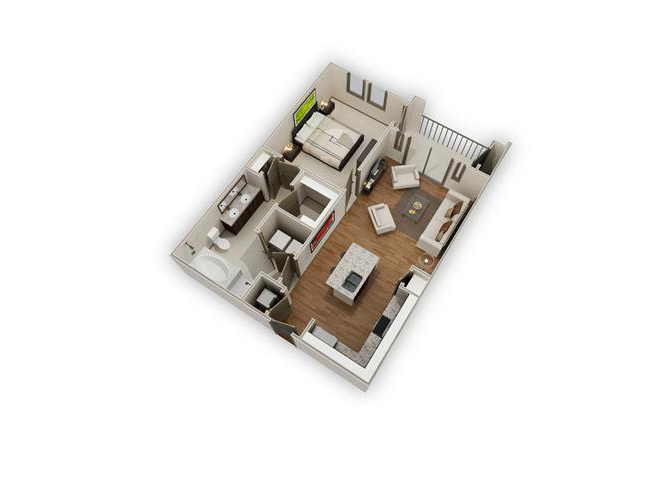 The Greyfield - A8 floor plan.