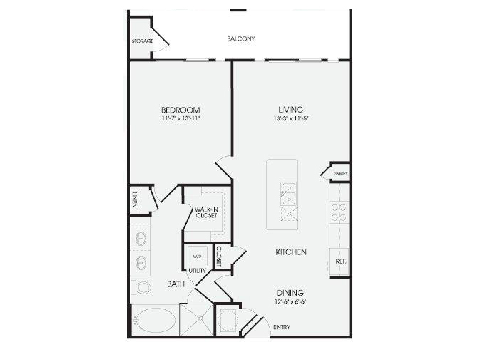 The Inwood - A10 floor plan.